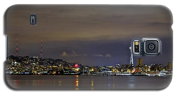 Seattle Cityscape At Night Galaxy S5 Case
