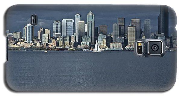 Seattle Cityscape From Alki Beach Galaxy S5 Case