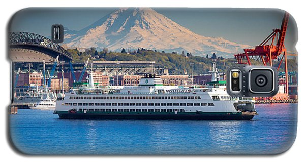 Seattle Harbor Galaxy S5 Case by Inge Johnsson