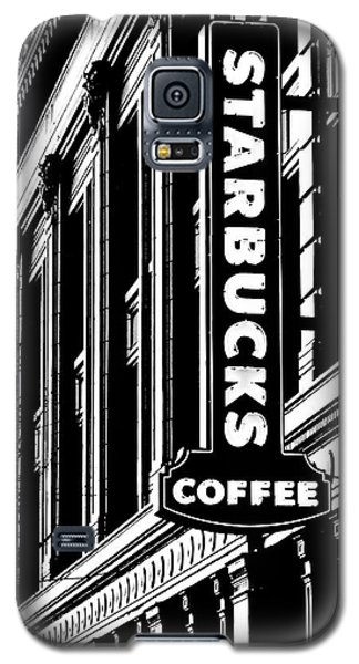 Seattle Icon Black And White Galaxy S5 Case