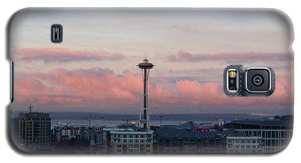 Seattle In Pink Galaxy S5 Case
