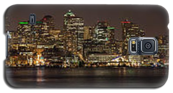 Seattle Lake Union Winter Reflection Galaxy S5 Case