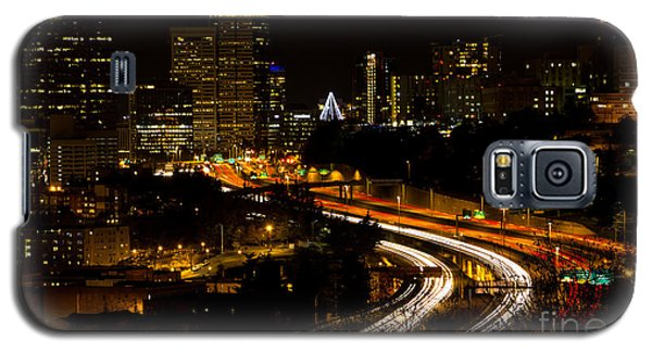 Seattle Light Trails Galaxy S5 Case