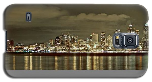 Seattle Lights At Night From Alki Galaxy S5 Case