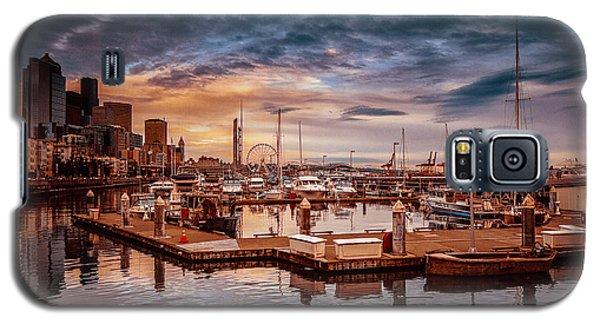 Seattle Marinescape. Galaxy S5 Case by Eti Reid
