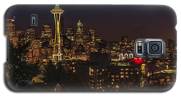 Seattle Night Lights Galaxy S5 Case