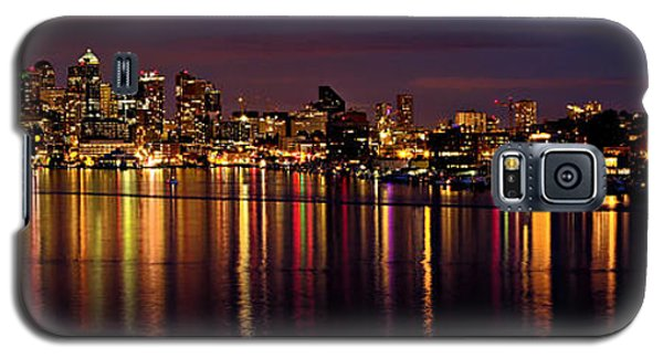 Seattle Night Reflections Galaxy S5 Case