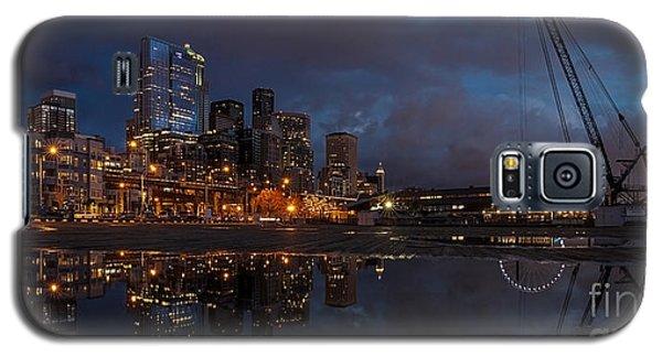 Seattle Night Skyline Galaxy S5 Case