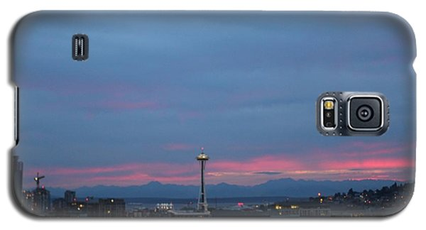 Seattle Pink And Blue Galaxy S5 Case