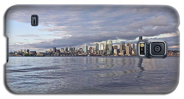 Seattle Skyline Cityscape Galaxy S5 Case
