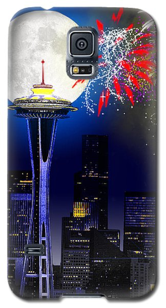 Seattle Skyline Galaxy S5 Case