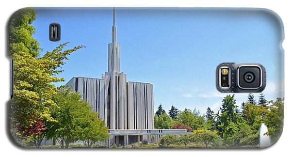 Seattle Temple - Horizontal Galaxy S5 Case