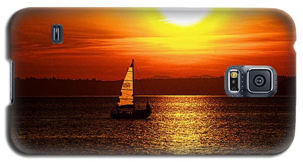 Seaview Sunset Galaxy S5 Case by Jerry Cahill