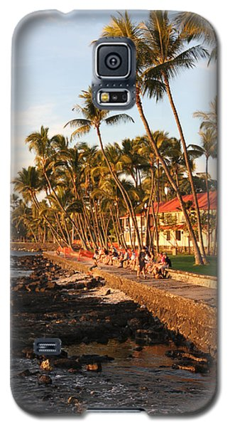 Seawall At Sunset Galaxy S5 Case