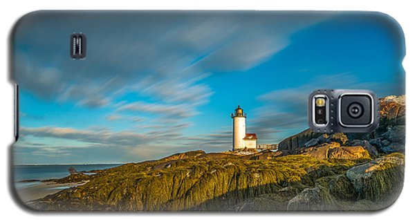 Seaweed Swagger And Time Traveling Clouds  At Annisquam Harbor L Galaxy S5 Case
