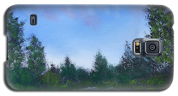 Galaxy S5 Case featuring the painting Secluded Paradise by Jennifer Muller