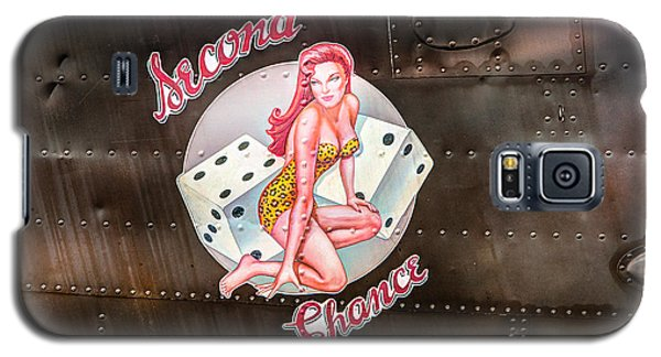 Second Chance - Aircraft Nose Art - Pinup Girl Galaxy S5 Case