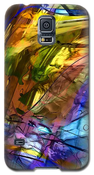 Galaxy S5 Case featuring the painting Secret Animal by Richard Thomas