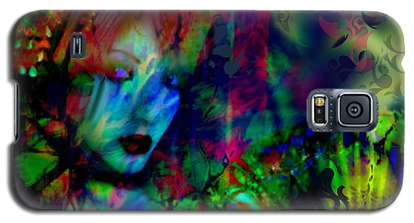 Galaxy S5 Case featuring the digital art Secret Beauty by Diana Riukas