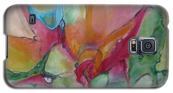 Galaxy S5 Case featuring the painting Secret Garden by Elis Cooke