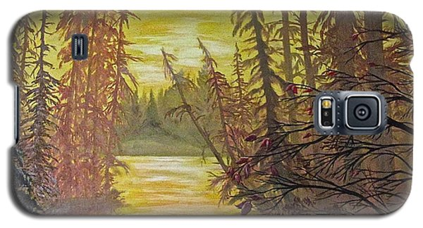 Galaxy S5 Case featuring the painting Secret Passage by Bonnie Heather