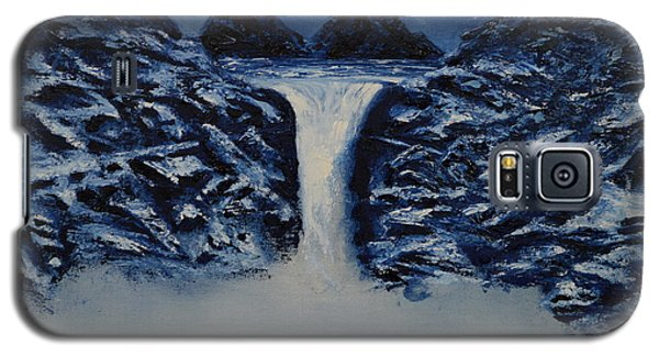 Galaxy S5 Case featuring the painting Secret Places by Shawn Marlow