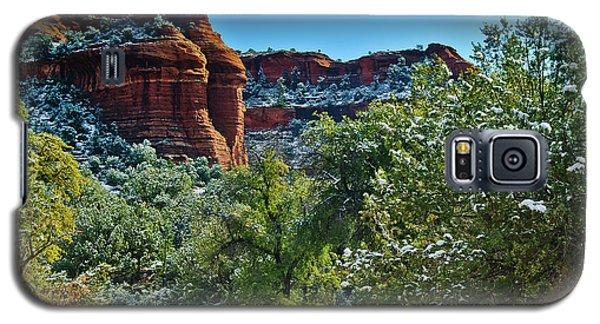 Galaxy S5 Case featuring the photograph Sedona Arizona - Wilderness Area by Bob and Nadine Johnston