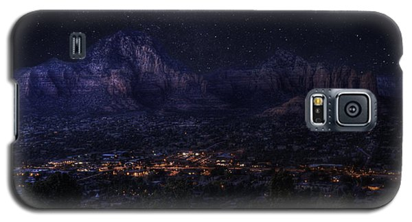 Sedona By Night Galaxy S5 Case by Lynn Geoffroy