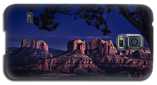 Sedona Cathedral Rock Post Sunset Glow Galaxy S5 Case