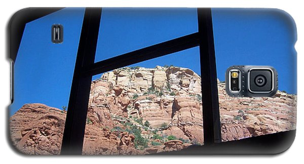 Galaxy S5 Case featuring the photograph Sedona Chapel 4 by Tom Doud