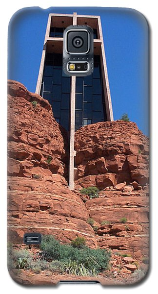Galaxy S5 Case featuring the photograph Sedona Chapel 5 by Tom Doud