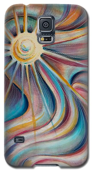 Galaxy S5 Case featuring the painting Sedona Charm by Dee Davis