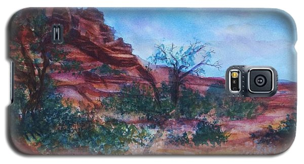 Sedona Red Rocks - Impression Of Bell Rock Galaxy S5 Case by Ellen Levinson