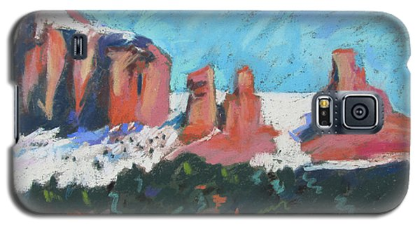 Sedona Snowfall Galaxy S5 Case by Linda Novick