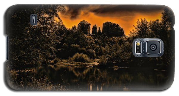 Sedona Sundown ... Galaxy S5 Case by Chuck Caramella