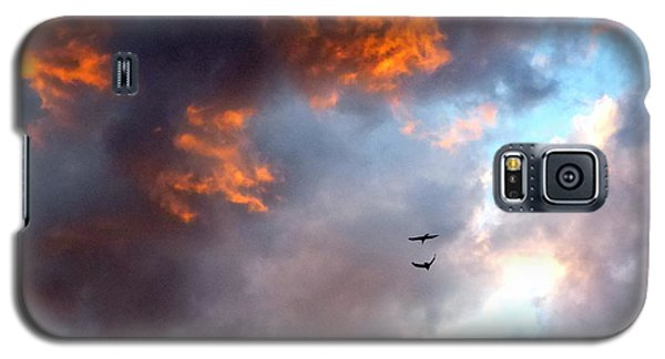 Sedona Sunset Ravens Galaxy S5 Case