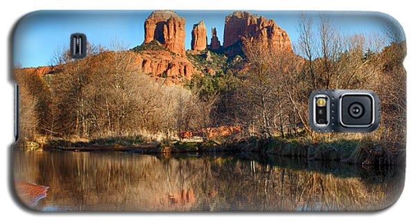Sedona Winter Reflections Galaxy S5 Case