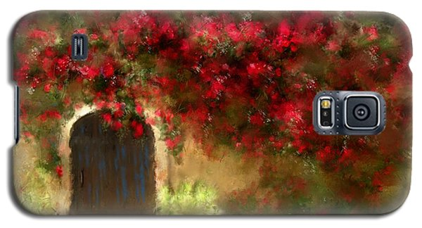 The Bougainvillea's Of Sedona Galaxy S5 Case by Colleen Taylor