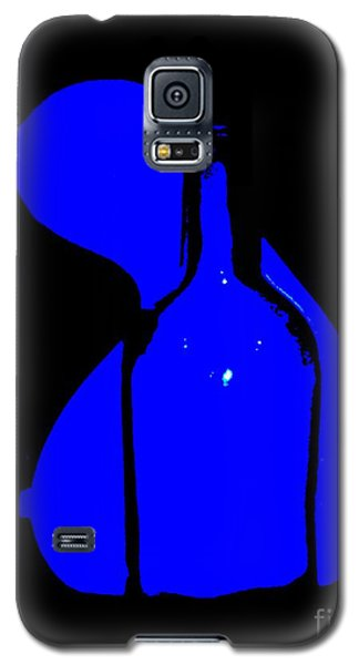 Galaxy S5 Case featuring the photograph Seduction In Blue by Newel Hunter