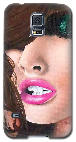 Galaxy S5 Case featuring the painting Seduction by Oddball Art Co by Lizzy Love