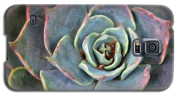 Sedum With Pink Edges Galaxy S5 Case