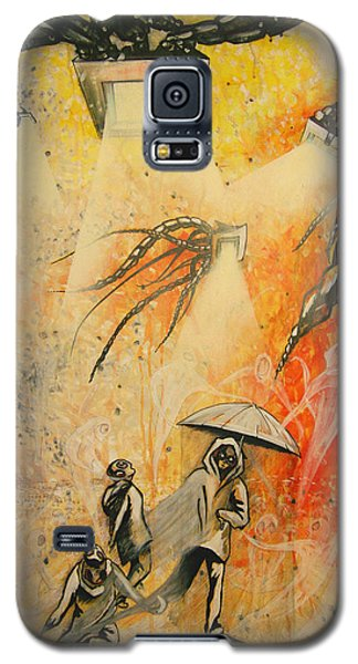 See Hear Speak No Evil Painting By Artist Ekaterina Chernova Galaxy S5 Case