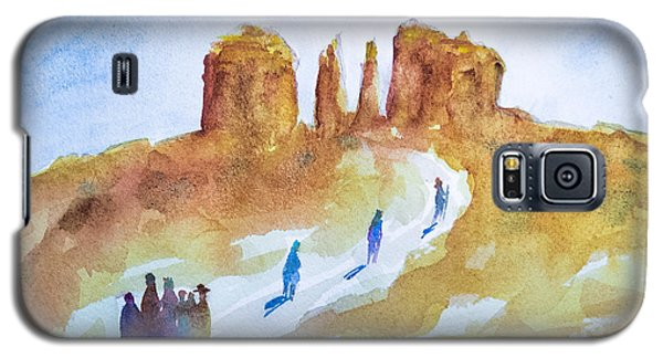 Seekers At Cathedral Rock Galaxy S5 Case