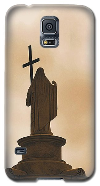 Galaxy S5 Case featuring the photograph Seeking The Divine by Nadalyn Larsen