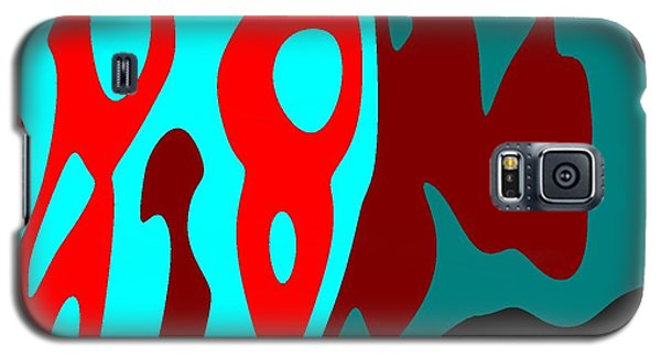 Galaxy S5 Case featuring the digital art Seen Differently by Jeff Iverson