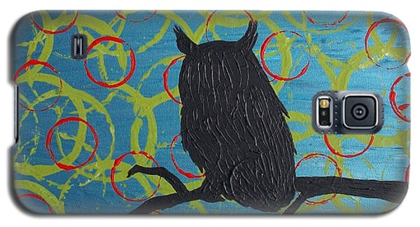 Galaxy S5 Case featuring the painting Seer by Jacqueline McReynolds