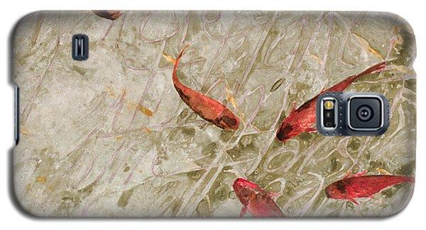 Sei Pesci Rossi   Galaxy S5 Case by Guido Borelli