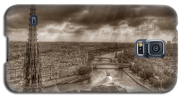 Seine From Notre Dame Galaxy S5 Case