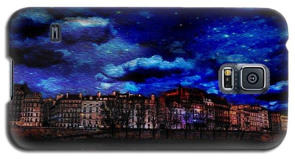 Seine River Paris France Galaxy S5 Case