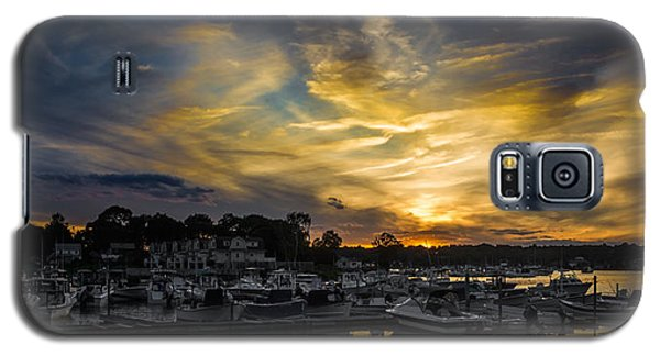Selective Color Sunset - Mystic River Galaxy S5 Case